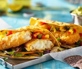 Beer Battered Tacos